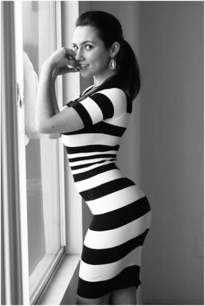 Hershberger zebra dress