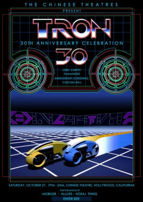 Tron: 30th Anniversary posters