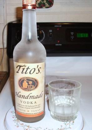 Tito's Hademade Vodka