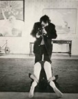 Kubrick filming Clockwork Orange