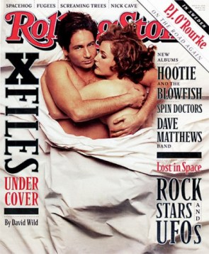 X Files Rolling Stone Cover