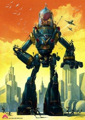 """50's type Robot"" (2009)"