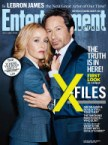 The X-Files Entertainment Weekly cover