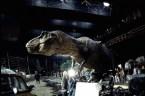 T-Rex on set