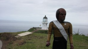Mr Worf's Holiday to New Zealand
