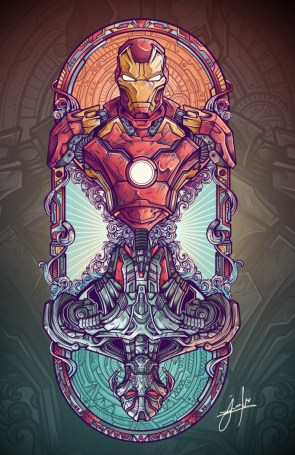 Iron Man Vs Ultron Fanart project