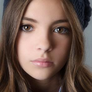 ojos marrones hermosos