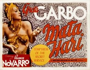 Greta Garbo IS Mata Hari.