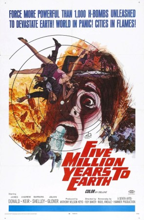Five Million Miles To Earth aka Quatermass And The Pit