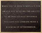 A Minimum of Interference