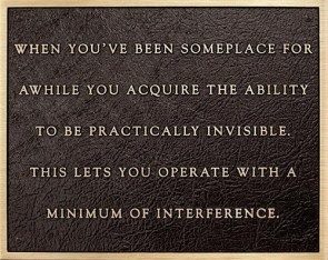 A Minimum of Interference