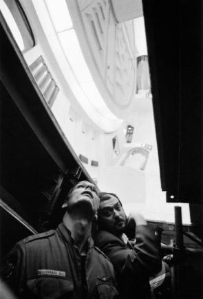Behind the Scenes Still from 2001: A Space Odyssey