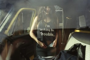 Bad girl comes with warning