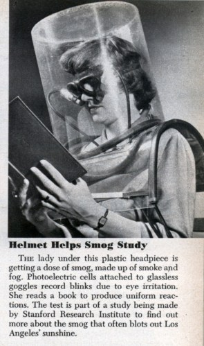 Smog helmet