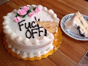 Fuck Off CAKE