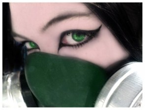 Girl and Mask