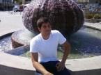 Jack London Square fountain.