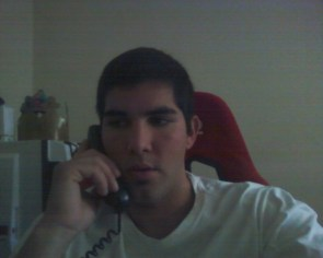 Me on the phone
