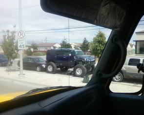 Awesome lifted hummer