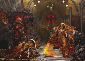 Horus vs The Emperor