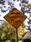 Watch Out for the Undulations!