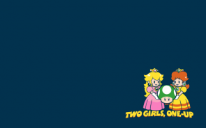 Two girls 1-up