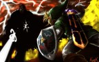 Link and Ganondorf