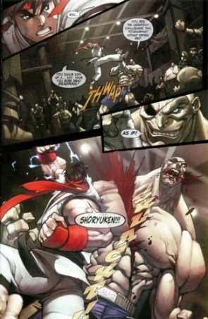 See what he did there Sagat?