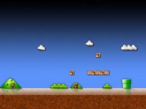 Super Mario Background