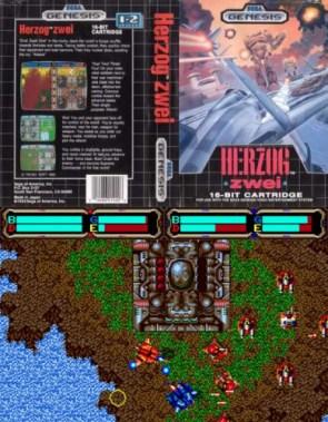 Herzog Zwei – Sega Genesis