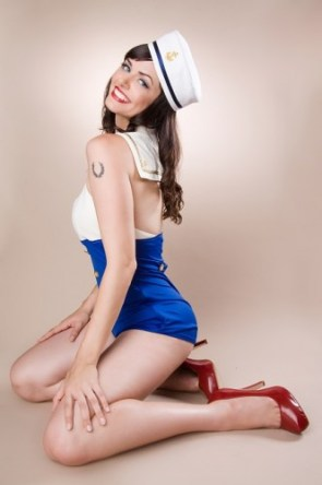 Sailor Pin Up