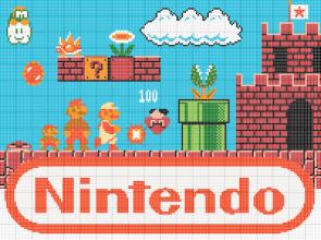 Mario Pixel Map