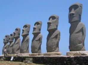 Moai Statue, Miyazaki, Japan