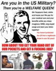 US Military Welfare Queens