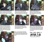 How to be a ninja