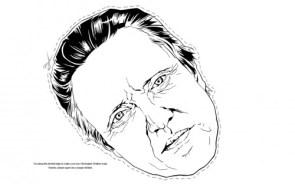 Christopher Walken Mask