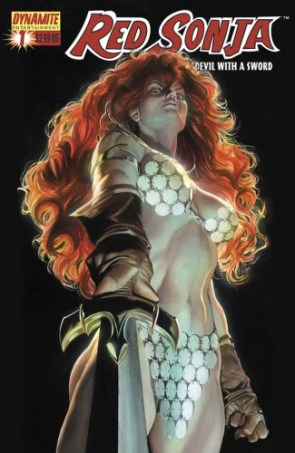 Red Sonja Cover Art