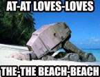 AT-AT BEACH-BEACH LOVE-LOVE