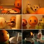 Depressed Orange