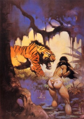 Frazetta – Cat's Ass