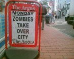 Monday: Zombies Take Over City