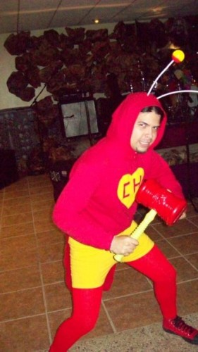 Dreth's past Halloween costumes