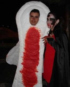 Bloody Pad Costume