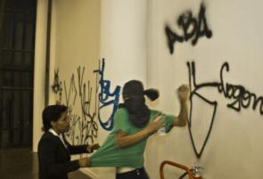 Peaceful Graffiti Artist