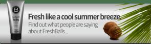Fresh Balls- The Solution For Men