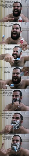 How To Brush Your Teeth Like A Spartan