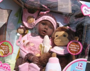"""Lil Monkey"" Doll"