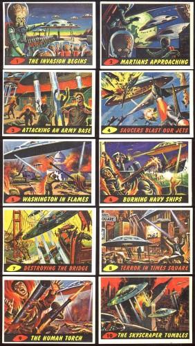 Mars Attacks! card sets