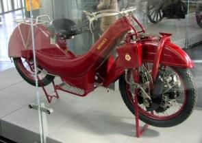Rotary engine bike