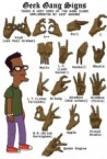 Geek Gang Signs